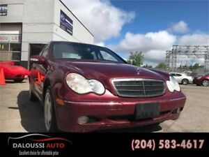 Finance available ! 2002 mercedes benz C240