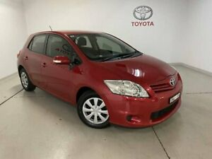 2011 Toyota Corolla ZRE152R MY11 Ascent Red 4 Speed Automatic Hatchback