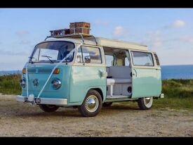 Beautiful VW T2 Devon Campervan 1974