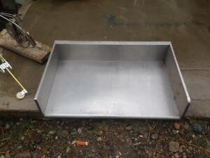 Stainless prep table top, cheap !
