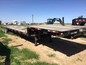 2014 Manac Steel Step Deck Trailer