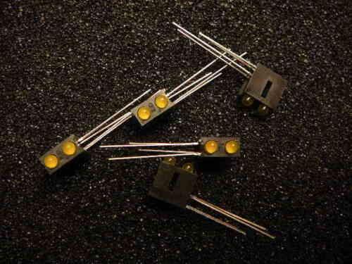 LEDTRONICS 21PCT120T4-Y/Y SINGLE COLOR LED ARRAY, HIGH EFFICIENCY YELLOW Qty.5