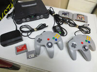 Nintendo 64 N64 System Console Controls Games Working