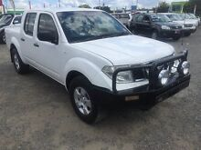 2011 Nissan Navara D40 MY11 RX White 5 Speed Automatic Utility Rocklea Brisbane South West Preview