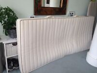 Single mattress made of natural latex from coconut