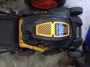 Cub Cadet Self Propelled Mower with Bagger