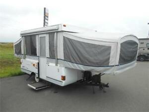WOW!!! Coleman Sante Fe Tent Trailer with Bathroom! $3999 AS IS!