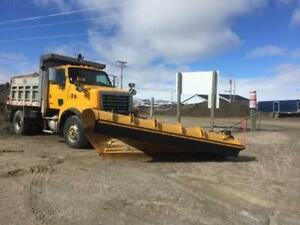 Sterling Dump Truck with Snow Blade