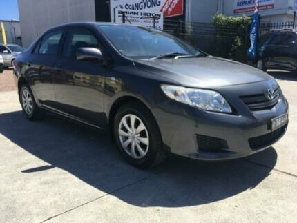 2007 Toyota Corolla ZRE152R Ascent Grey 6 Speed Manual Sedan Tuggerah Wyong Area Preview