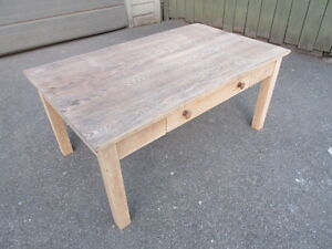 """RUSTIC OAK COFFEE TABLE """"YOUR REFINISHING PROJECT"""""""