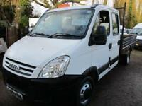 Iveco Daily 3.0TD 35C15 LWB DOUBLE CAB TIPPER NO VAT 90000 MILES GENUINE