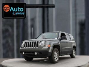 2013 Jeep Patriot Sport, 2.4L I4, 4x4, Power Heated Mirrors, Key