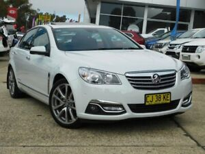 2017 Holden Calais VF II MY17 V White 6 Speed Automatic Sedan Belconnen Belconnen Area Preview