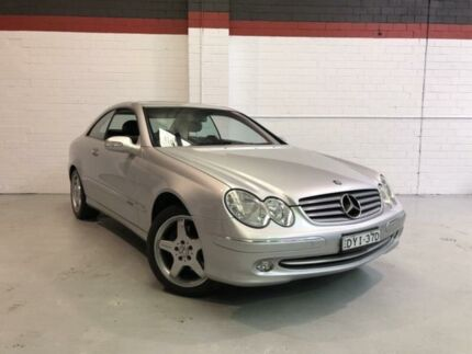 2002 Mercedes-Benz CLK320 Elegance Silver Automatic Coupe West Gosford Gosford Area Preview