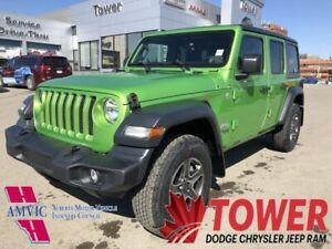 2018 Jeep Wrangler Unlimited Sport-KEYLESS ENTRY, TOUCHSCREEN