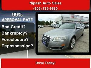 2008 Audi A6 3.2L QUATTRO NAVIGATION BACK UP CAMERA,PUSH START B