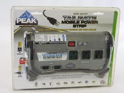 SEALED-NEW-Peak-PKCOBO-Tailgate-400w-Watts-Car-RV-Mobile-POWER-INVERTER-Strip ()