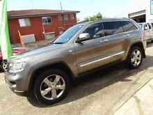 2012 Jeep Grand Cherokee WK MY12 Overland (4x4) Grey 6 Speed Automatic Wagon Sylvania Sutherland Area Preview