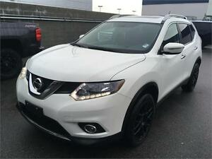 "2014 NISSAN ROGUE SV AWD white 18"" wheels"