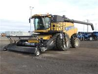 """2011 New Holland CR9090 """"Z"""" Elevation Combine - Tier 3, 1249hrs"""