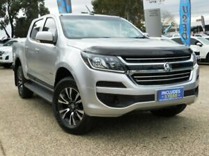 2017 Holden Colorado RG MY17 LS (4x4) Silver 6 Speed Manual Crew Cab Pickup Belconnen Belconnen Area Preview