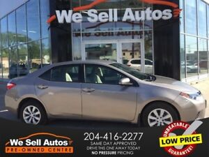 2014 Toyota Corolla LE *LOW KM *BTOOTH *HTD SEATS *AUX