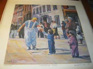 3 lithographies de Raynald Leclerc, peintre