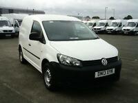 Volkswagen Caddy 1.6TDI 102PS VAN DIESEL MANUAL WHITE (2013)