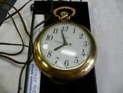 UNITED POCKET WATCH STYLE ELECTRIC CLOCK