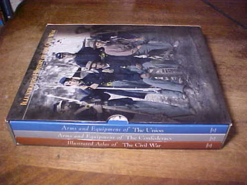 3 Volume Set in Sleeve Illustrated History of the Civil War Time Life Books