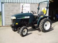 Used Shire 320 compact tractor