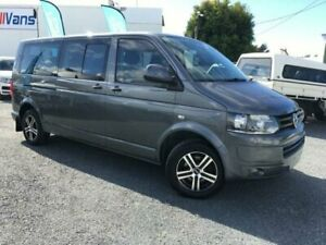 2011 Volkswagen Caravelle 7H MY10 Trendline Charcoal 7 Speed Auto Direct Shift Wagon Currumbin Waters Gold Coast South Preview