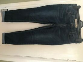 Next relaxed skinny jeans size 10 petite