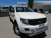 2014 Ford Ranger PX XL Double Cab White 6 Speed Sports Automatic Utility Maroochydore Maroochydore Area Preview