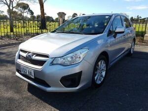 2014 Subaru Impreza G4 MY14 2.0i-L Lineartronic AWD Silver 6 Speed Constant Variable Hatchback