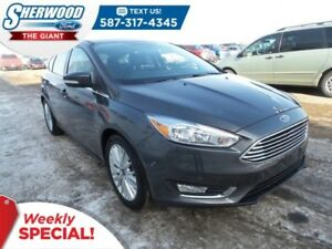 2018 Ford Focus Titanium - Leather, Navigation, Park Assist