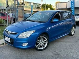 2009 Hyundai i30 FD MY09 SR Blue 4 Speed Automatic Hatchback St James Victoria Park Area Preview
