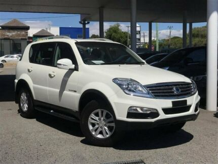 2016 Ssangyong Rexton Y285 II MY14 SX White 5 Speed Sports Automatic Wagon Glendalough Stirling Area Preview