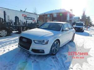AUDI S4 TECHNIK PLUS 2016 AWD (AUTOMATIQUE BLUETOOTH NAVIGATION)