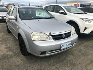 2007 Holden Viva JF MY07 Mercury Silver/82i 4 Speed Automatic Wagon Derwent Park Glenorchy Area Preview
