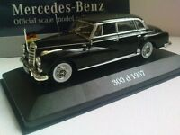 Mercedes-Benz 300 D 1957 in 1:43 Die-Cast Scale DeAgostini World * Germany COA New Foile