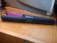 GHD straighteners - model no 5 black & pink (Very good condition)