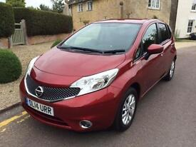 2014 (14) Nissan Note 1.5dCi ( 90ps ) Acenta ONLY 18,000 MILES FREE ROAD TAX