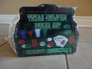 Brand new sealed Texas Hold'em Poker Set 200 pieces London Ontario image 6