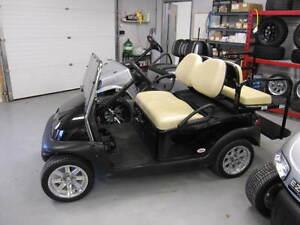2012 Club Car Precedent Electric Golf Cart Black Kitchener / Waterloo Kitchener Area image 1