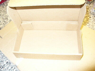 50 Small Brown Postal Gift Packaging Boxes 6.5 x 3.75 x 1.25