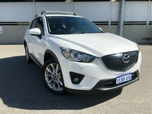 2013 Mazda CX-5 KE1021 MY13 Akera SKYACTIV-Drive AWD Crystal White Pearl Sports Automatic Wagon Cannington Canning Area Preview