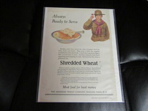 Shredded Wheat Sept 1925 Good Housekeeping Boy Scout Ad     Cov