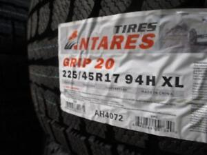 225/45 R17 ANTARES GRIP20 WINTER TIRES *BRAND NEW*
