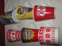 6 X NEW MUGS SOME COLLECTABLE